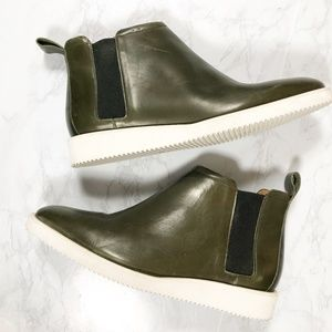 Everlane Olive The Street Ankle Leather Boot 9